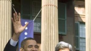 Kerry unterstützt Obama