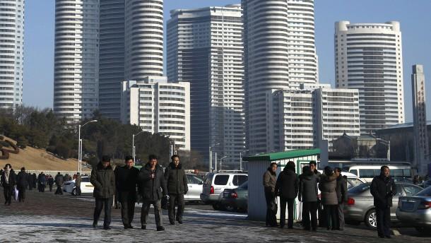 Nordkoreaner müssen hungern