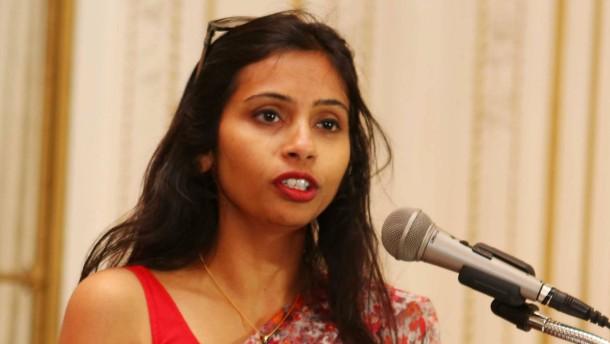 Devyani Khobragade verlässt Amerika mit Diplomatenpass