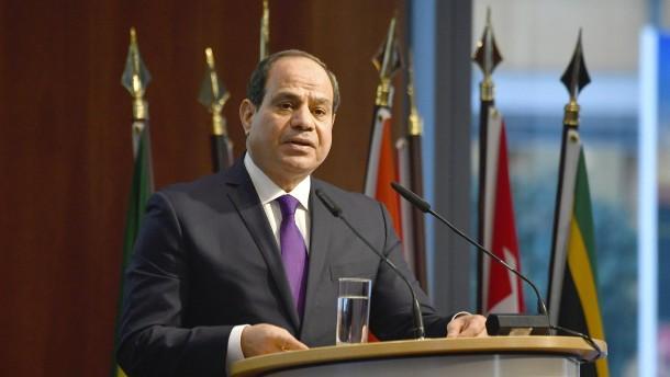 Sisi schlägt Waffenruhe für Libyen vor