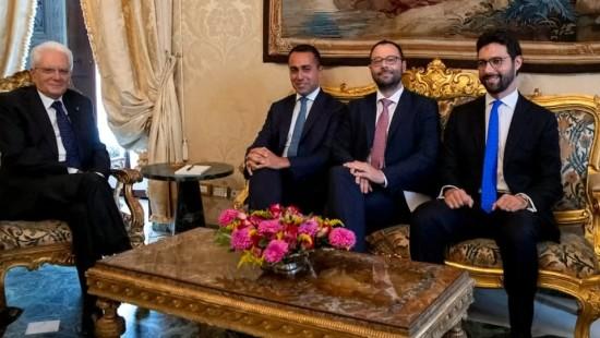 Regierungskoalition in Italien steht