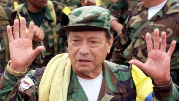 Farc-Anführer Marulanda angeblich tot