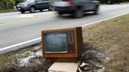 Fernseh-Propaganda für den Präsidenten