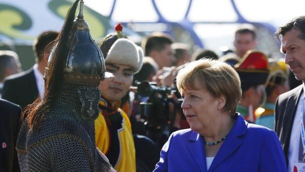 Horrornachrichten in der mongolischen Gipfelidylle