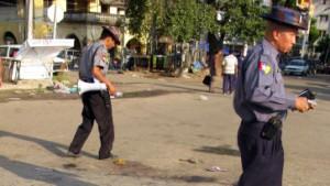 Neun Tote nach Anschlägen in Rangun