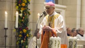 Bischof Franz Kamphaus im Limburger Dom, Festgottesdienst