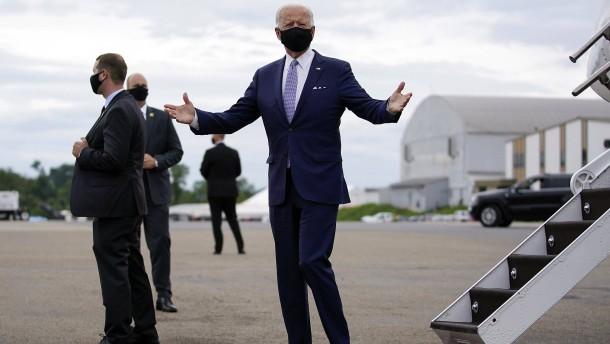 Wie Biden seinen Gegner in die Falle lockt