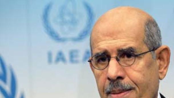 IAEA-Chef Baradei schließt Gewalt gegen Iran nicht aus