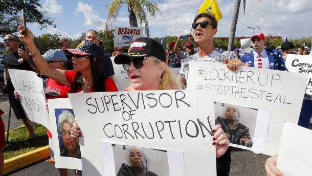 Republikaner wittern Betrug in Florida und Georgia