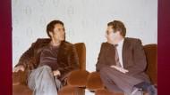 Bei Gaddafi auf dem Sofa: Innenminister Baum zu Besuch in Libyen 1978