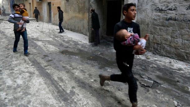 Einladung an Iran gefährdet Syrien-Konferenz