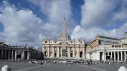 In den Vatikan nur noch mit 3-G