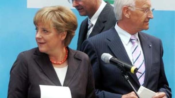 Merz: Stoiber bleibt in Bayern
