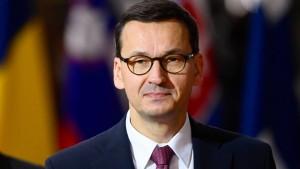 """Morawiecki bezeichnet Macrons Nato-Bemerkung als """"gefährlich"""""""