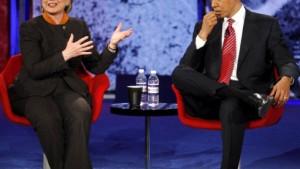 Heftiger Schlagabtausch zwischen Clinton und Obama