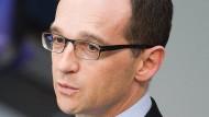 Lebenszeichen einer funktionierenden Partnerschaft: Bundesjustizminister Heiko Maas
