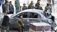 Dutzende Tote bei IS-Anschlägen in Damaskus