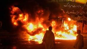 57 Tote nach Anschlag auf Sunniten in Karachi