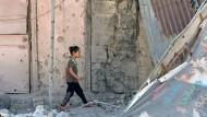 Waffenruhe im Süden Syriens hält