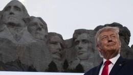 """Trump hält Verewigung am Mount Rushmore für """"gute Idee"""""""