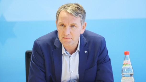 Höcke als Thüringer AfD-Chef bestätigt