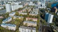 Sollen verschwinden: Fünfstöckige Wohnhäuser im Moskauer Stadtbezirk Mnewniki