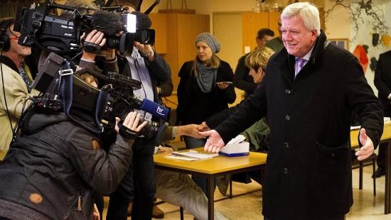 CDU trotz Verlusten stärkste Kraft in Hessen