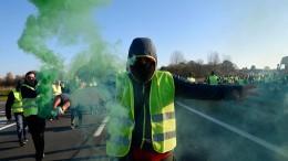 Eine Tote und 106 Verletzte bei Spritpreis-Protesten in Frankreich