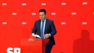 SPD berät über weiteres Vorgehen