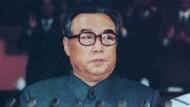 Der frühere nordkoreanische Machthaber Kim Il-sung sprach 1972 das erste Mal von Atomwaffen.