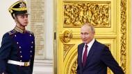 Flucht in die ruhmreiche Vergangenheit: Russlands Präsident Wladimir Putin