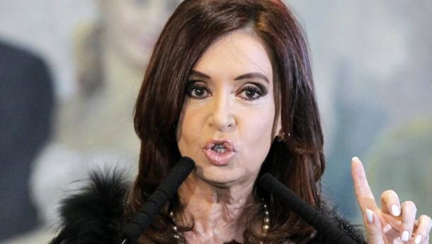 Argentiniens Präsidentin entfacht erneut Falkland-Streit