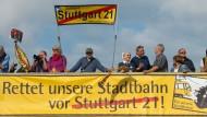 Nur wenig Proteste zu Baubeginn