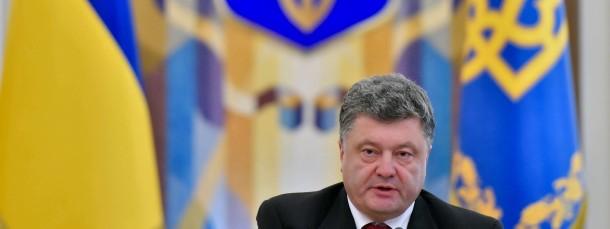 Führt die Wehrpflicht wieder ein: Petro Poroschenko, Präsident der Ukraine