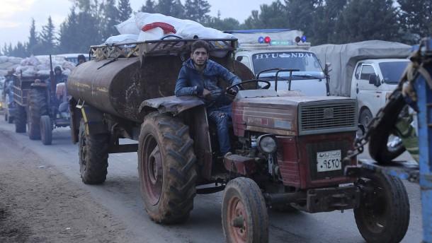 Mehr als 235.000 Menschen in Syrien auf der Flucht