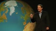 Friedensnobelpreisträger Al Gore: Von Vortrag zu Vortrag um die Welt.