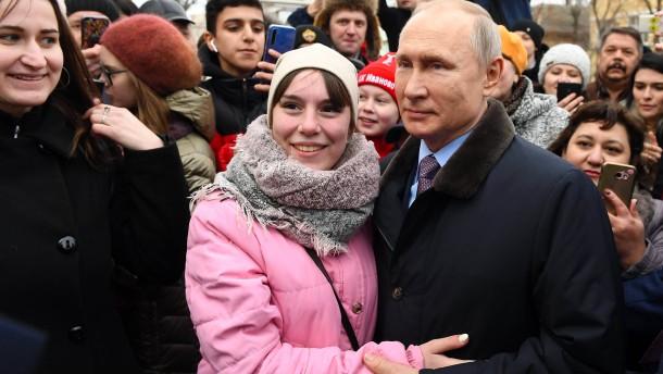Dauerpräsident Putin