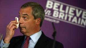Das überraschend graue Seminar des Nigel Farage