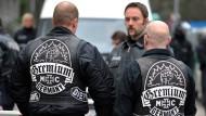 Bundesweite Razzia gegen Rockerclub Gremium MC