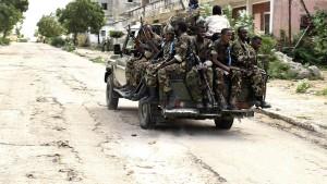 Schwere Kämpfe in Mogadischu