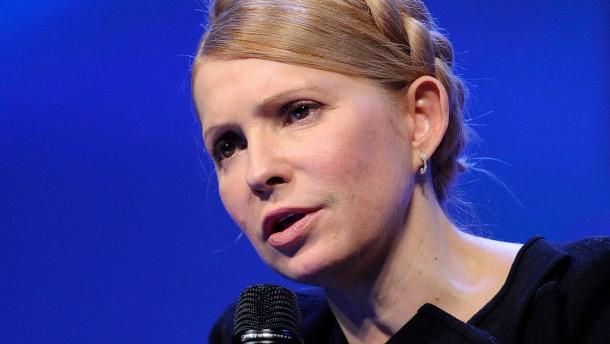Regierung rügt Timoschenkos Gewaltphantasien