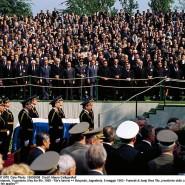 An Titos Grab versammelten sich noch einmal alle maßgebenden Politiker der Welt.