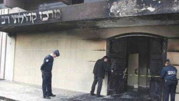 Europas Synagogen sind Zielscheiben im Nahostkonflikt