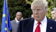 Wirklich nervig, diese Typen aus Europa. So ähnlich mag Trump den Gipfel von Taormina empfunden haben, wo er kein einziges Mal golfen durfte.