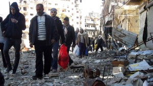 Evakuierung von Homs hat begonnen
