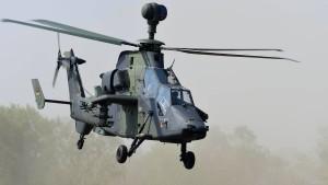 Bundeswehrhubschrauber Tiger soll nächste Woche wieder fliegen