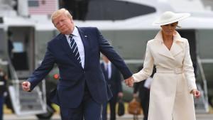 """Trumps """"unglaublicher Erfolg"""" in Großbritannien"""