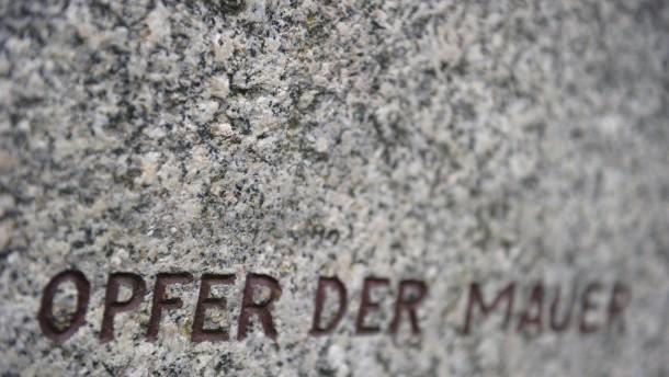Tod an der Berliner Mauer
