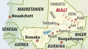 Karte / Mali