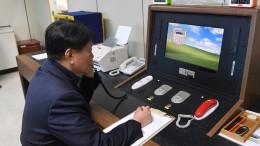 Funkstille zwischen Nord- und Südkorea beendet